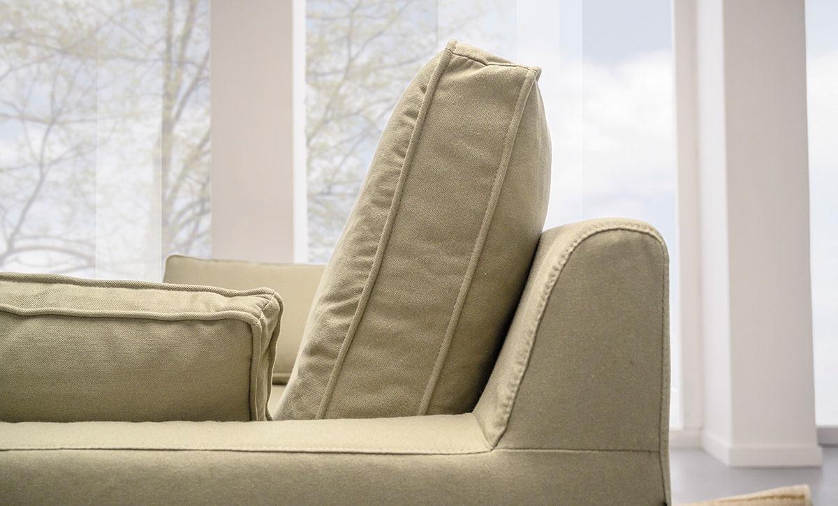 particolare divano 2posti